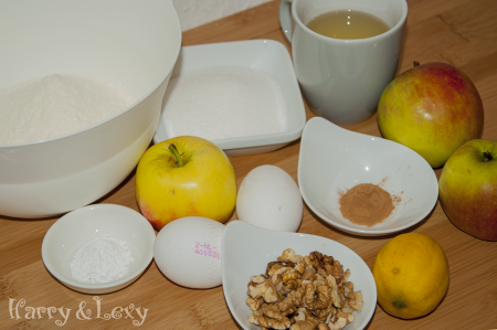 Granny's Apple Cake Ingredients