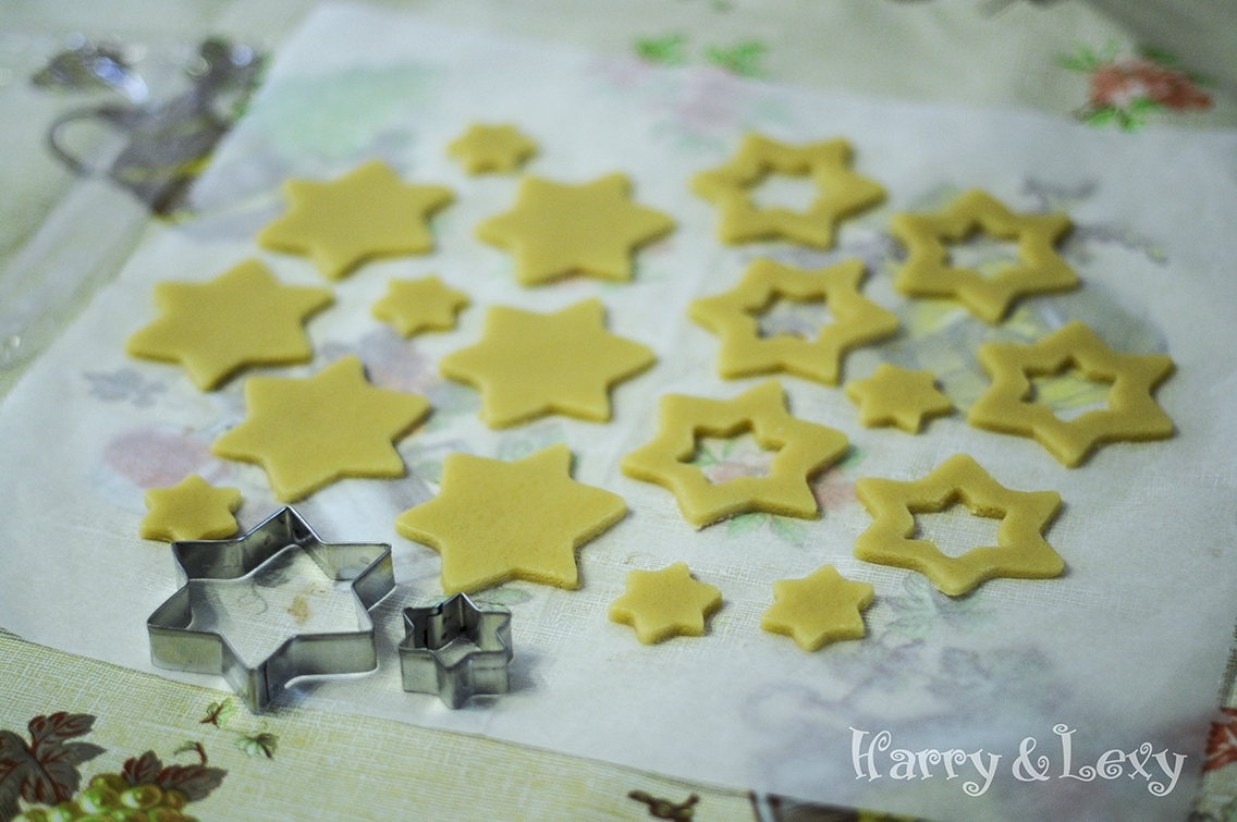 Cut Out Star Cookies