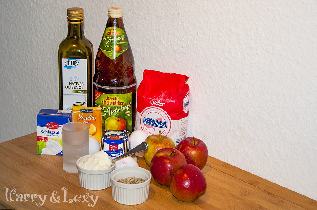 Apple Parfait Ingredients