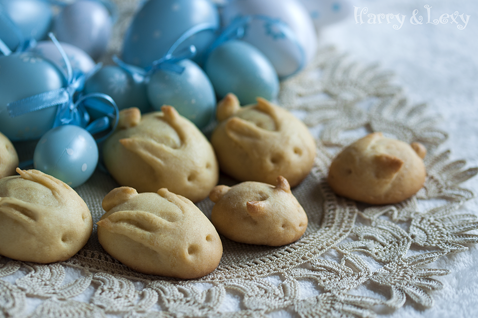Granny's Easter Bunny Cookies