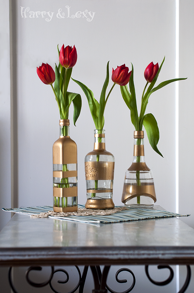Decorative Flower Bottle Vases