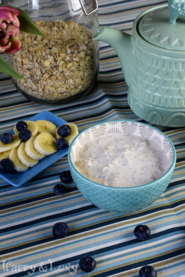 Overnight Oats with Almond Milk