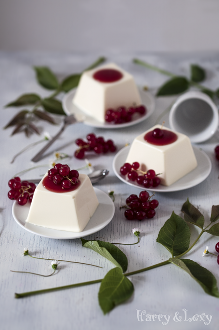 Mascarpone panna cotta with redcurrant harry lexy 39 s - Panna cotta mascarpone ...