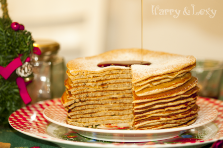 The Best Gingerbread Pancakes