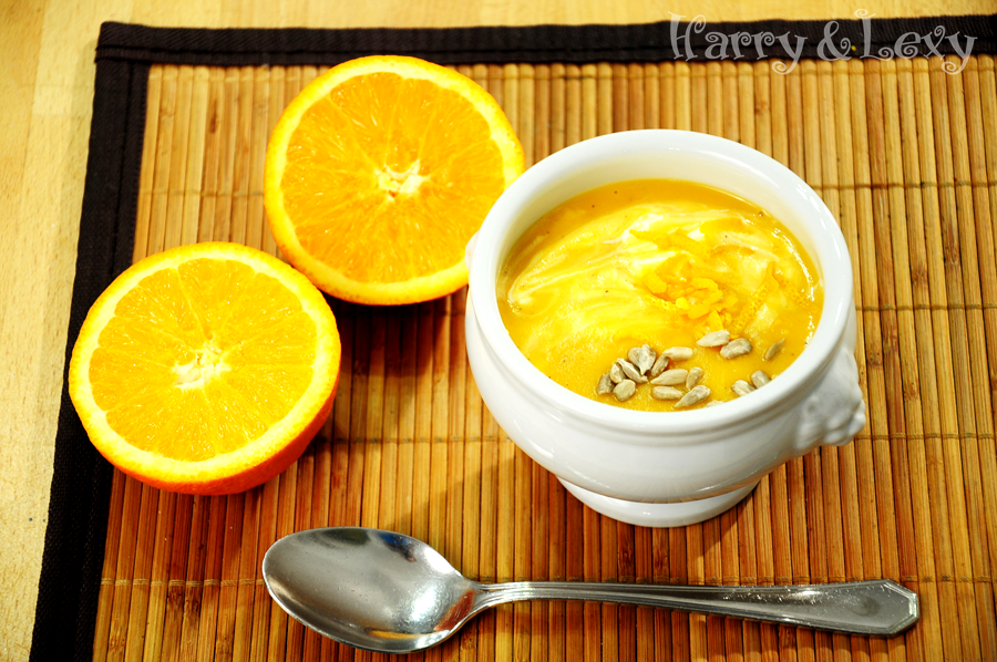 Creamy Orange Soup - Harry & Lexy's Workshop