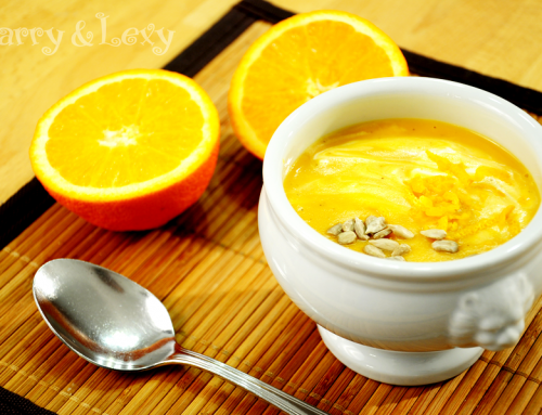 Butternut Squash and Carrot Soup - Harry & Lexy's Workshop