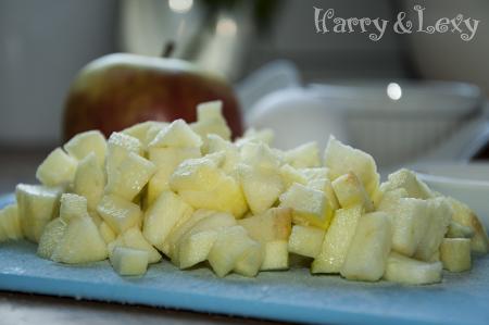 Apple Muffins Preparation