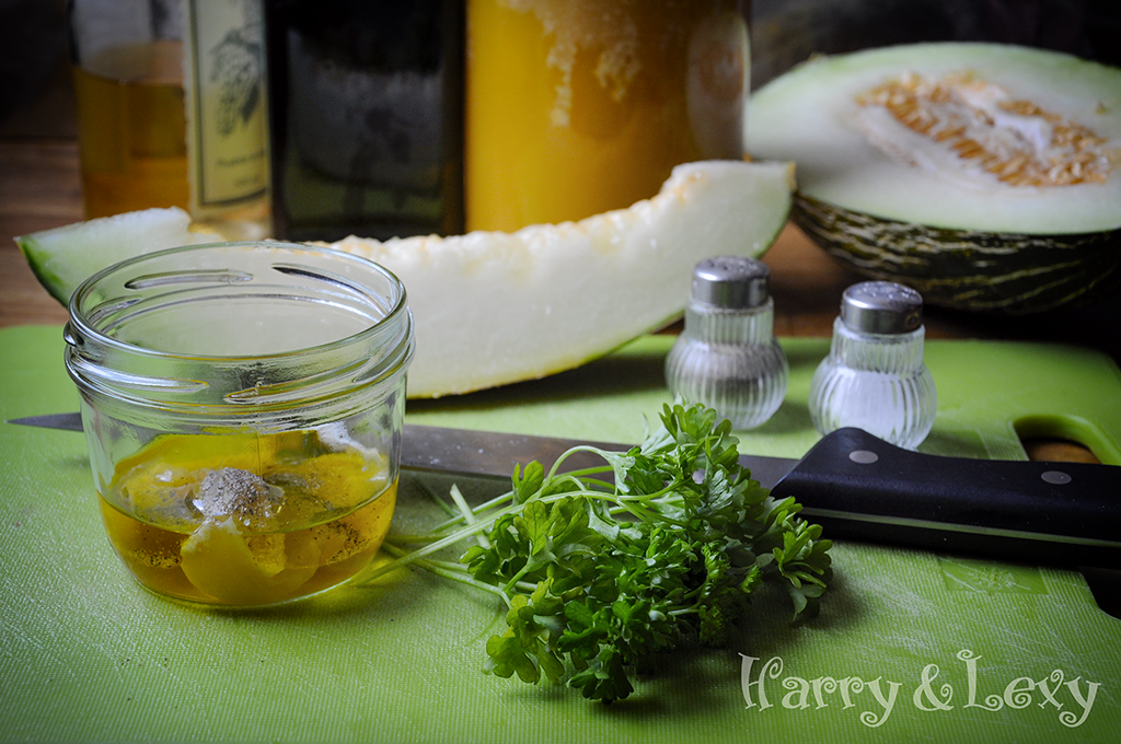 Summer Salad  Honey Dressing