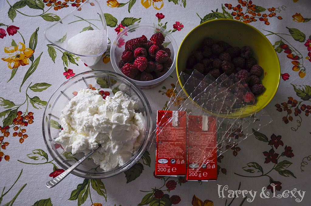 Raspberry Quark Cake Ingredients
