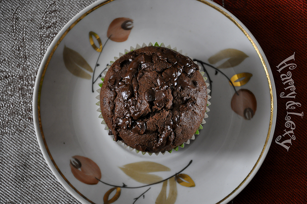 double-chocolate-muffin