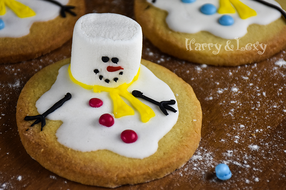 Melted Snowman Cookies Recipe Harry And Lexy S Workshop