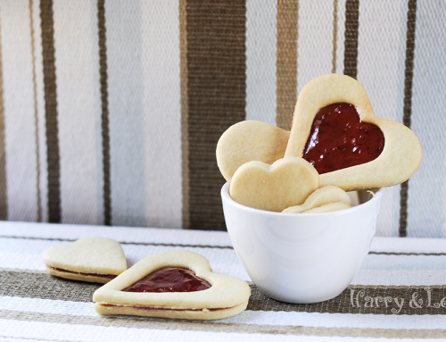 Linzer Sandwich Cookies with Strawberry Jam