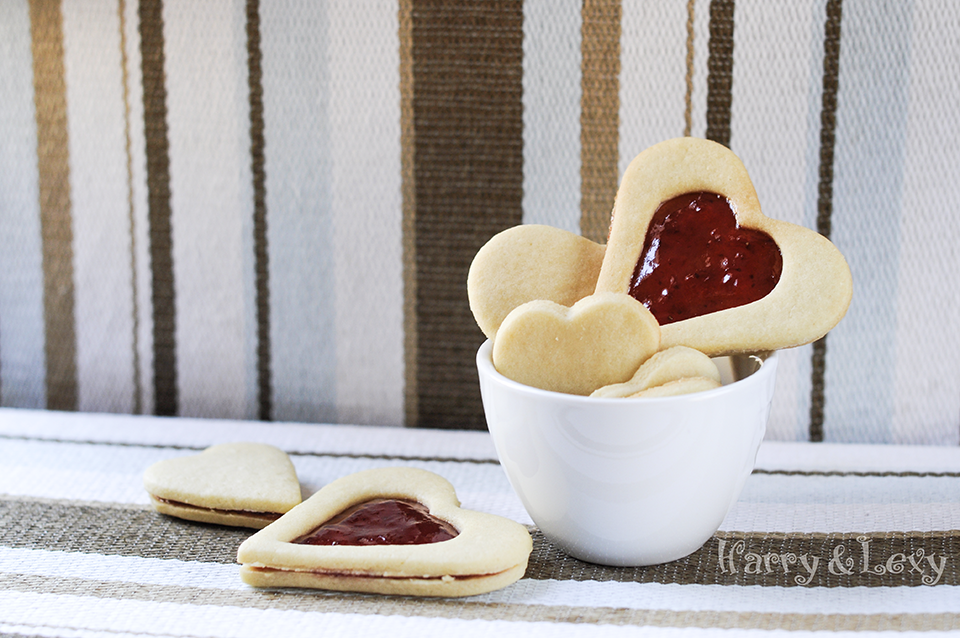 Strawberry Jam Sandwich Cookies Recipe