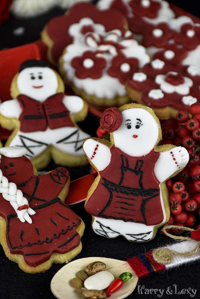 Bulgarian Traditional Martenitsa Cookies