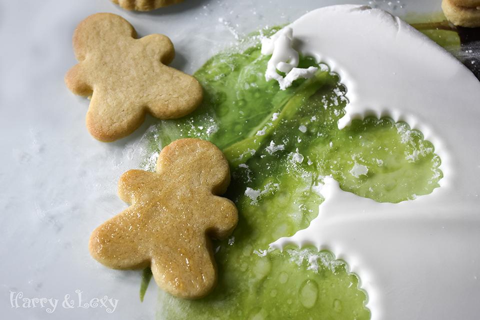 Fondant Gingerbread Man Cookies