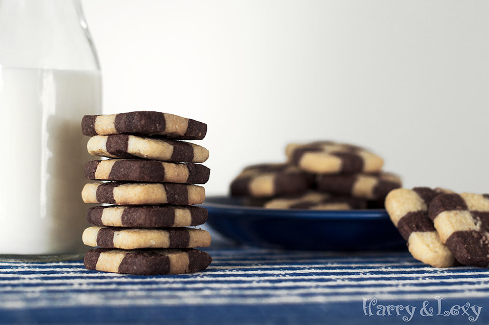 Easy Checkerboard Cookies