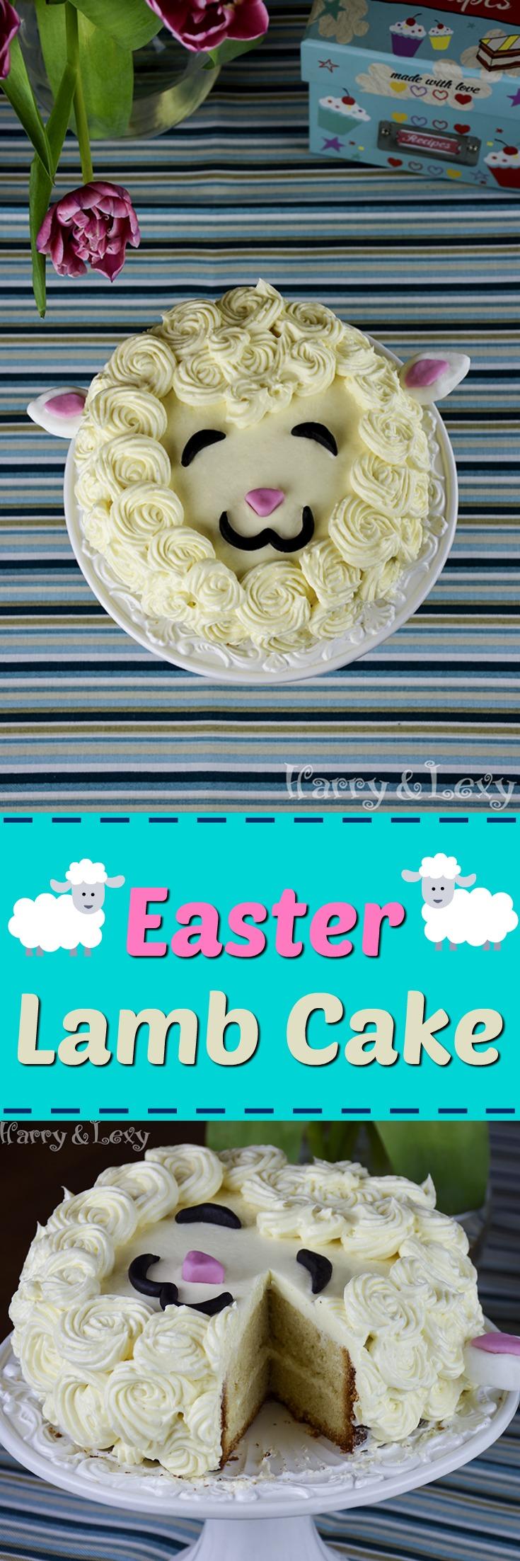 Easy Easter Lamb Cake