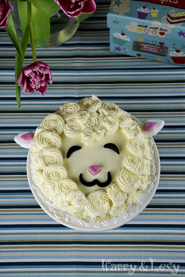 How to make a Sheep Cake