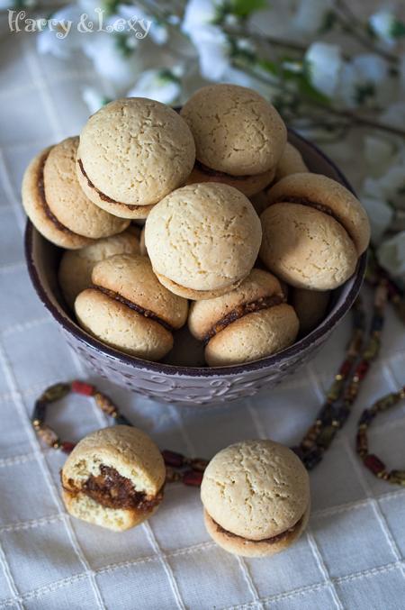 Rosehip Jam Cookies