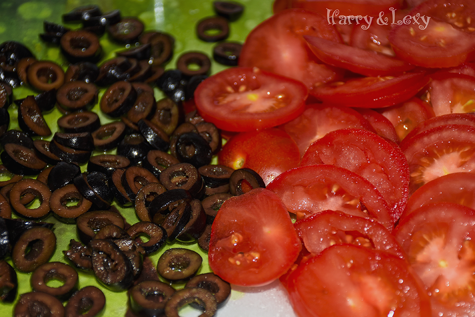Black Olives and Tomatoes