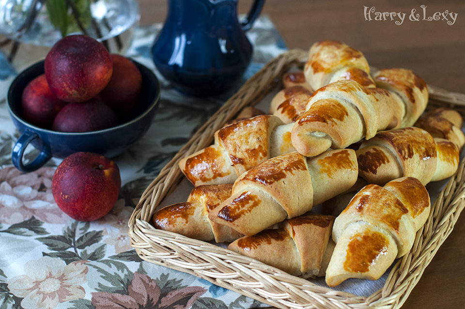 Easy Breakfast Feta Cheese Croissants