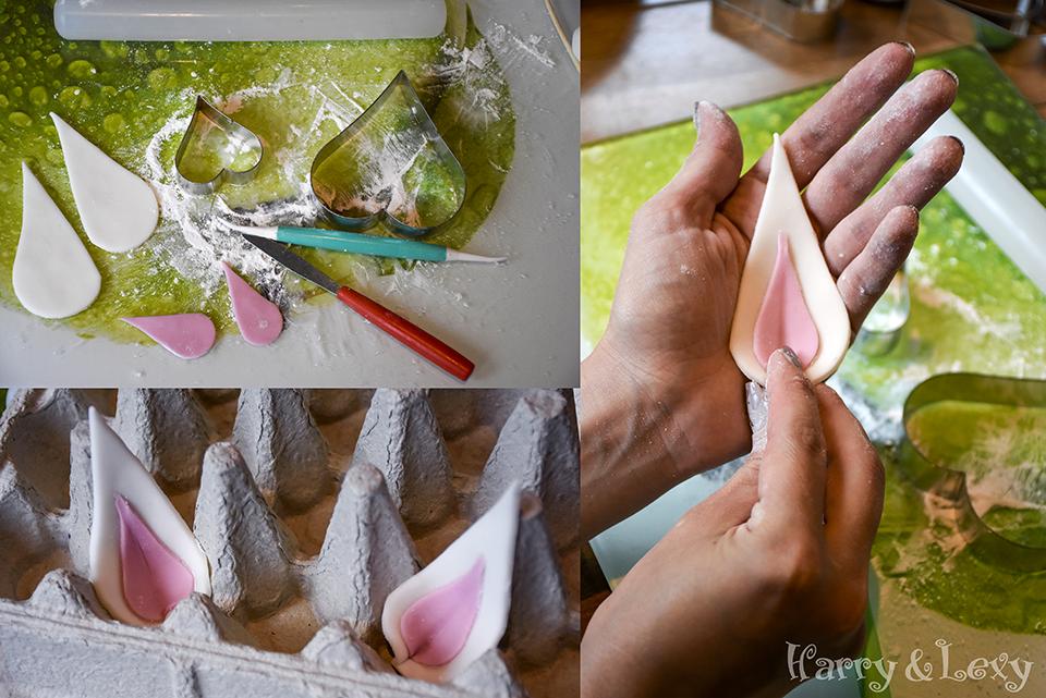 How to make Unicorn Cake Ears