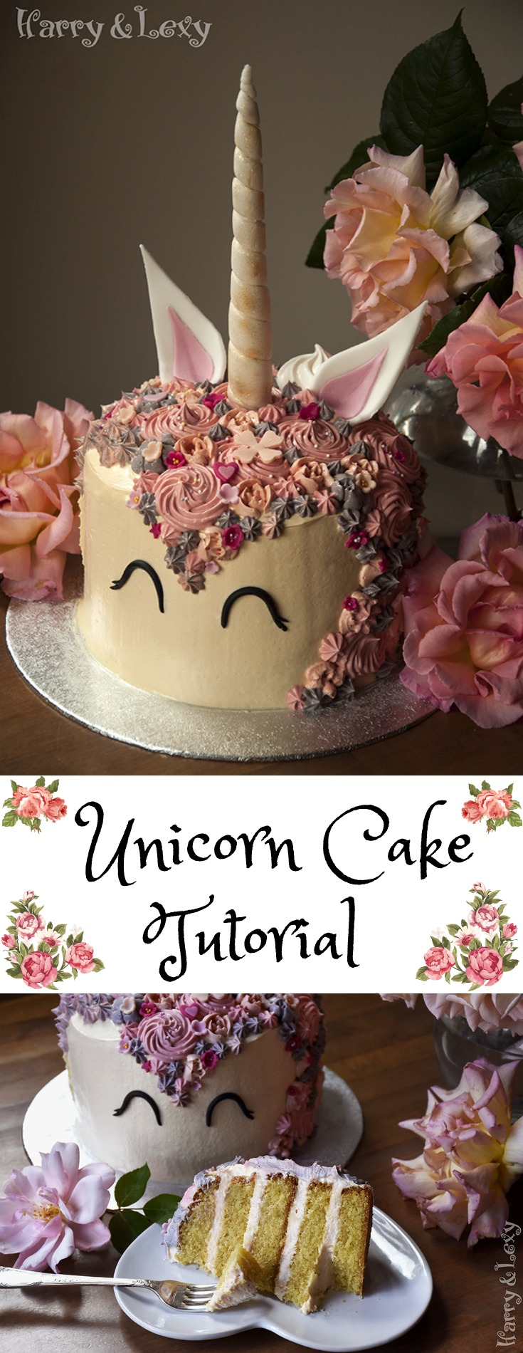 How To Make Unicorn Cake Step By Step Recipe Harry