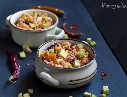 Марокански кускус със зеленчуци