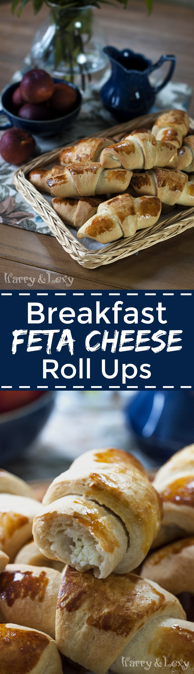 Breakfast Feta Cheese Roll Ups