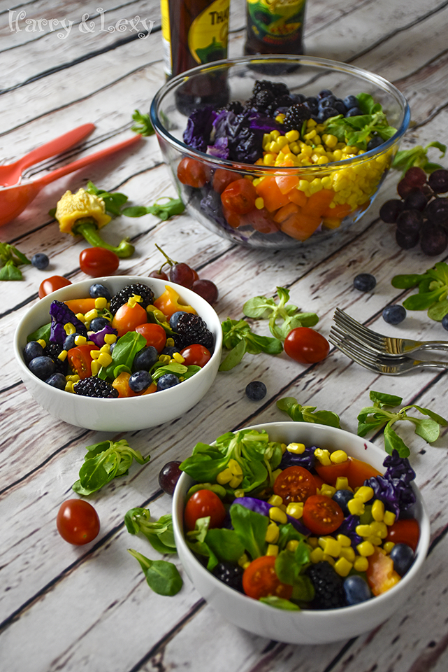 Rainbow Party Salad