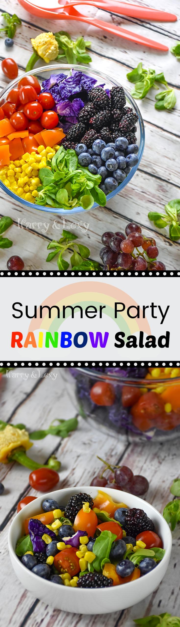 Summer Party Rainbow Salad