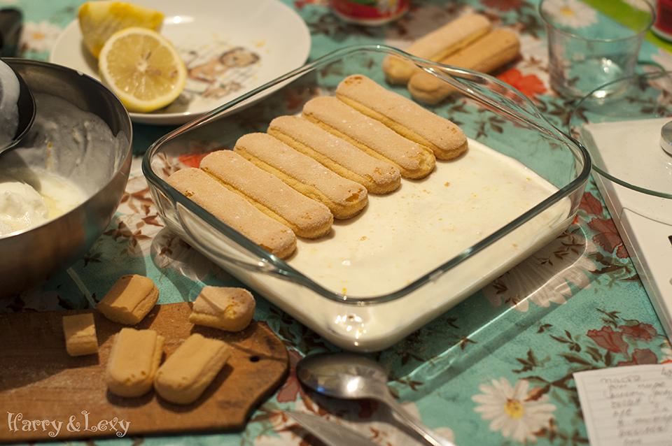 Lemon Yogurt Cake Preparation