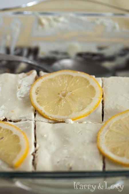 Yogurt Dessert with Lemons
