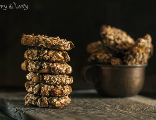 Енергийни бисквити с ядки и сушени плодове