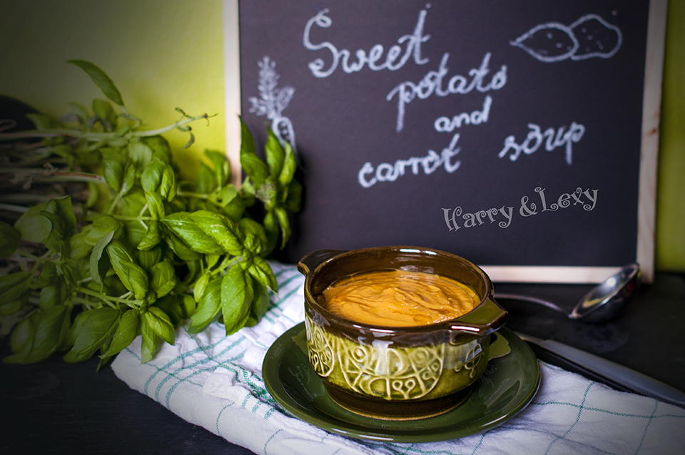 Sweet Potato and Carrot Soup