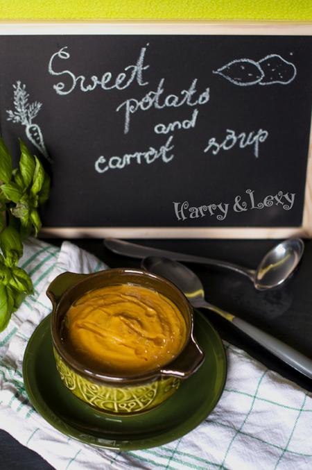 Carrot Sweet Potato Soup Recipe