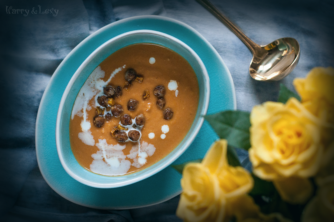 Carrot, Parsnip and Chickpea Soup